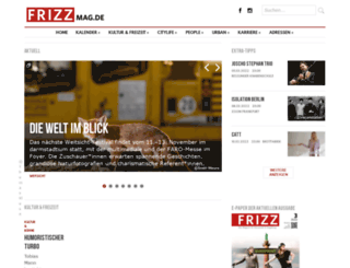 frizzmag.de screenshot