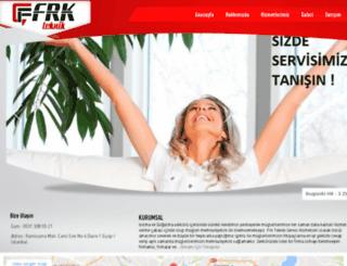 frkteknik.com screenshot