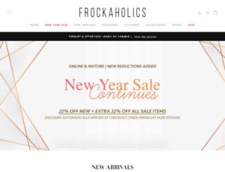 frockaholics.com screenshot