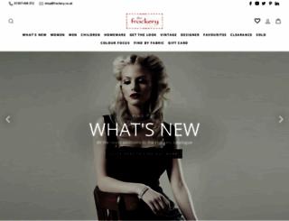 frockery.co.uk screenshot
