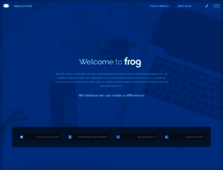frogeducation.com screenshot