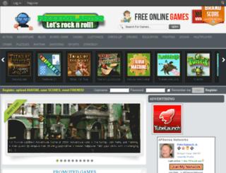 froggyblaster.com screenshot