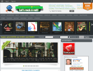 froggyblaster.net screenshot