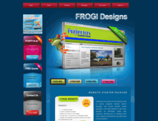 frogi.co.za screenshot