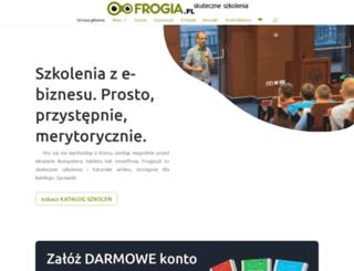 frogia.com screenshot