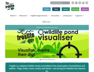 froglife.org screenshot