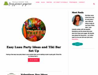 frogprincepaperie.com screenshot