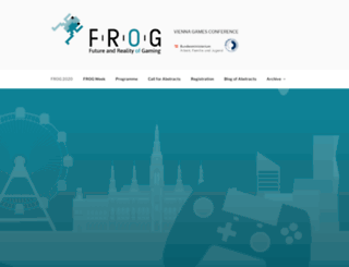frogvienna.at screenshot