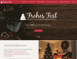 frohesfest.net screenshot