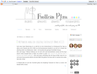 frollein-pfau.blogspot.de screenshot