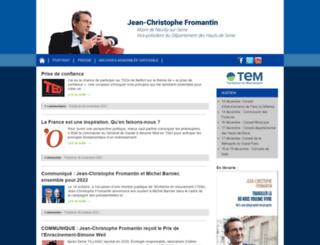fromantin.com screenshot