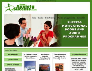 fromanxietytosuccess.co.uk screenshot
