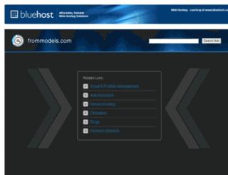 frommodels.com screenshot