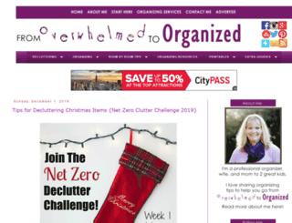fromoverwhelmedtoorganized.blogspot.com screenshot
