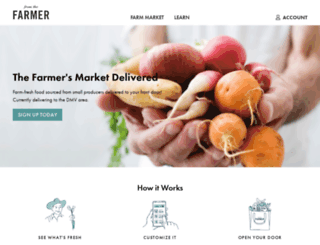 fromthefarmerdc.com screenshot