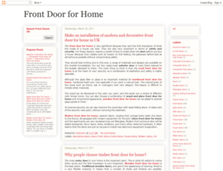front-doors-home-uk.blogspot.com screenshot