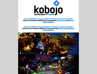 front-pyramidville.kobojo.com screenshot