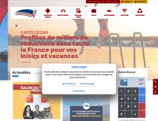frontalier.org screenshot