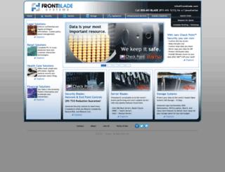 frontblade.com screenshot