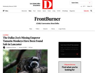 frontburner.dmagazine.com screenshot