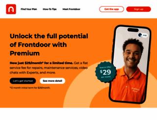 frontdoor.com screenshot