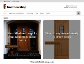 frontdoorshop.co.uk screenshot