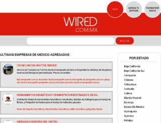 frontera.wired.com.mx screenshot