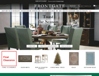 frontgate.com screenshot
