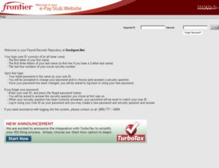frontier.docagent.net screenshot