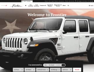 frontiermotor.net screenshot