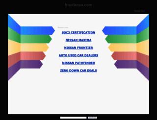 frontierpa.com screenshot