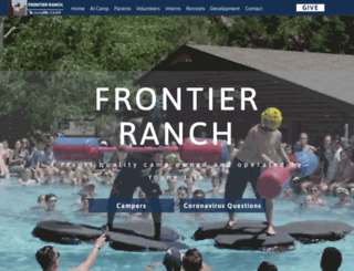 frontierranch.younglife.org screenshot