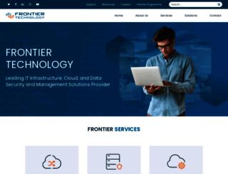 frontiertechnology.co.uk screenshot