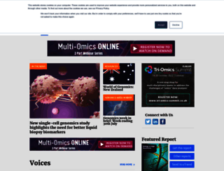 frontlinegenomics.com screenshot