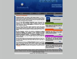 frontlinesoft.com screenshot