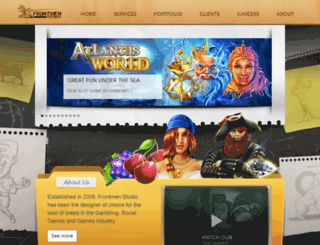 frontmenstudio.com screenshot