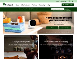 frontpointsecurity.com screenshot
