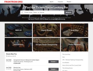 frontrow.org screenshot