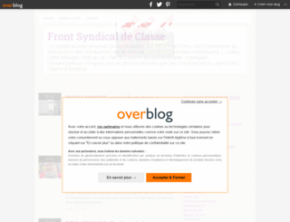 frontsyndical-classe.org screenshot