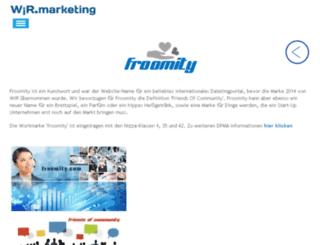 froomity.com screenshot