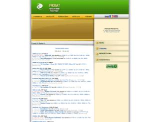 frosat.net screenshot
