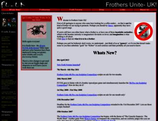 frothersunite.com screenshot