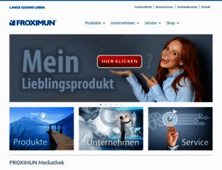 froximun.de screenshot
