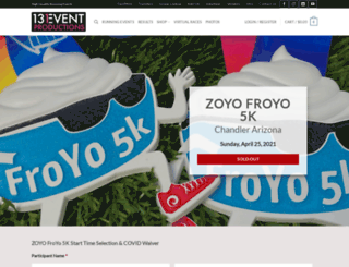 froyo5k.com screenshot