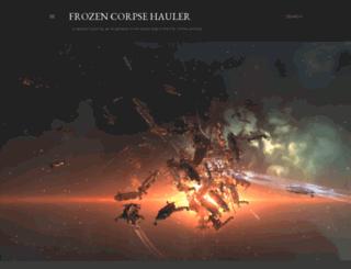 frozencorpsehauler.blogspot.ca screenshot