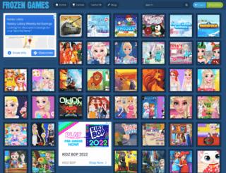 frozengames.org screenshot