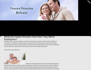 frozenpensionsfreeadvice.splashthat.com screenshot