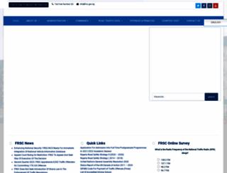 frsc.gov.ng screenshot