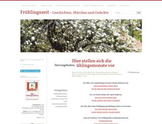 fruehlingsgeschichten.wordpress.com screenshot