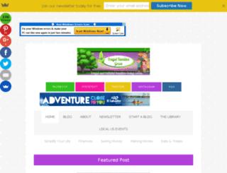 frugalfamilieslivegreen.com screenshot